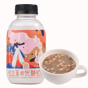 老金磨方红豆薏米代餐奶昔50g瓶装