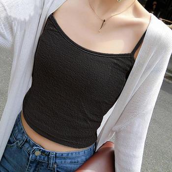 打底衫短款打底衫修身性感内搭小吊带背心女