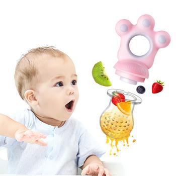 纽因贝婴儿果蔬训练器咬咬乐       食品级硅胶