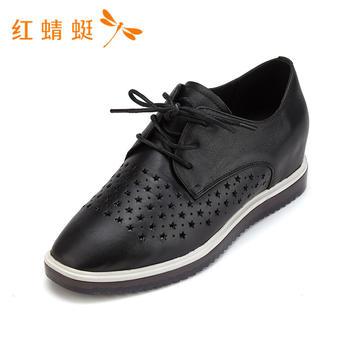 红蜻蜓女鞋春季新款舒适百搭单鞋女B81962