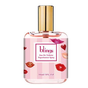 blings香水女维密甜心花果香调男女士学生持久淡香水