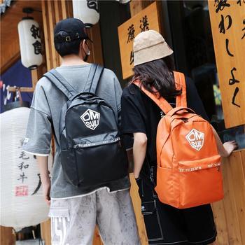 萨兰丹迪大容量书包男韩版双肩包女ins潮牌背包旅行包