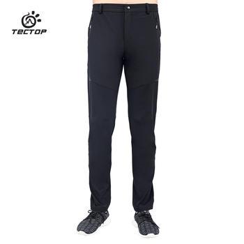 探拓 外速干裤透气弹力运动徒步登山裤男款