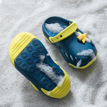 男女童防滑凉拖鞋夏季儿童婴幼儿1-3岁宝宝可爱洞洞鞋