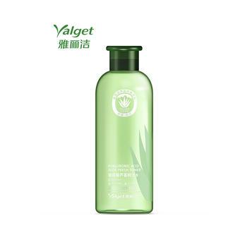雅丽洁玻尿酸芦荟鲜汁水500ml,大容量护肤水