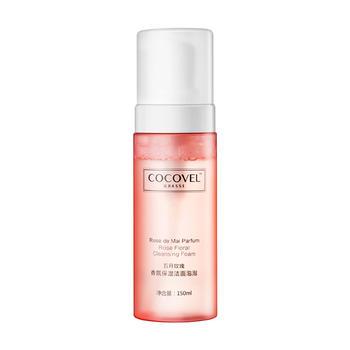 COCOVEL法式香氛五月玫瑰氨基酸洗面奶女洁面慕斯控油