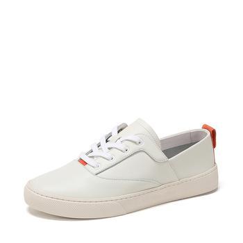 SHOEBOX/鞋柜休闲平底小白鞋深口单鞋女1118101238