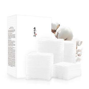 韩朵 亲肤柔软化妆棉卸妆棉三层双面200片 孕妇护肤品