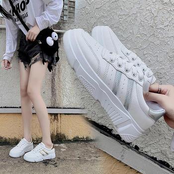 Tatyana秋季新款厚底小白鞋女百搭学生板鞋