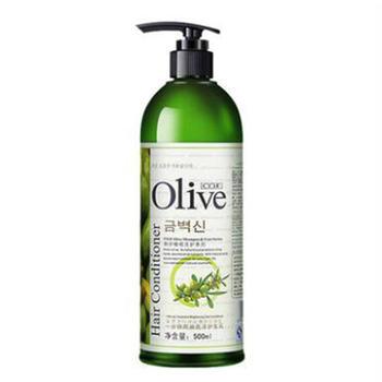 (买一送一)韩伊 橄榄一分钟焗油亮泽护发乳500ml润发