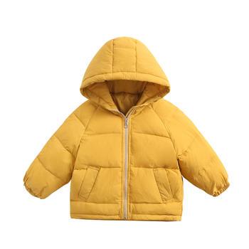 Cipango 冬季儿童加厚羽绒服婴幼儿面包服小童保暖外套