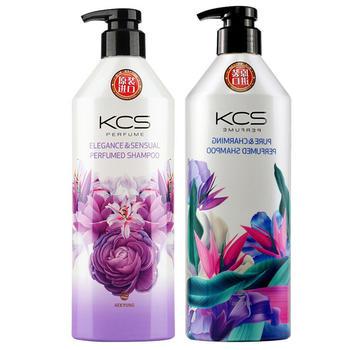 韩国进口爱敬香水洗发水香味持久留香600ml*2瓶