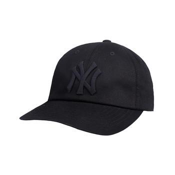 MLB韩国NY棒球帽鸭舌帽百搭男女可调节帽子