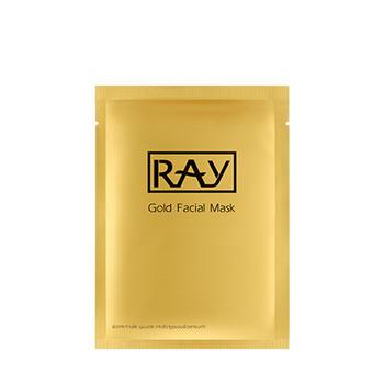 泰国进口 妆蕾RAY 金色蚕丝面膜 10片/盒