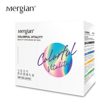 Mergian/美肌颜七彩元气美肌面膜礼盒28片