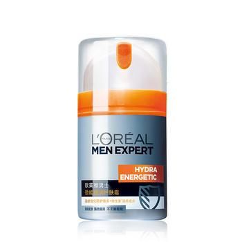 欧莱雅男士劲能极润护肤霜 50ml,随机应变,滋润保湿