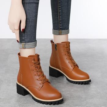 马丁靴女鞋英伦风新款百搭小短靴
