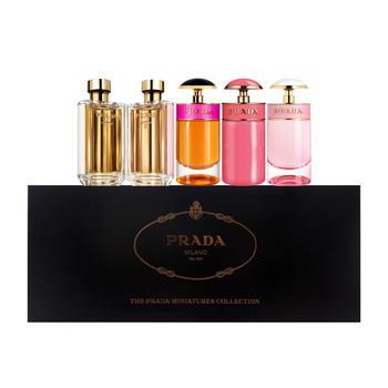 意大利•普拉达(Prada)香水组合7ml*3+9ml*2 拥有5款香水