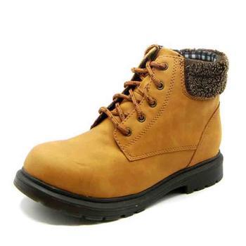 SHOEBOX/鞋柜冬季加绒保暖舒适马丁靴