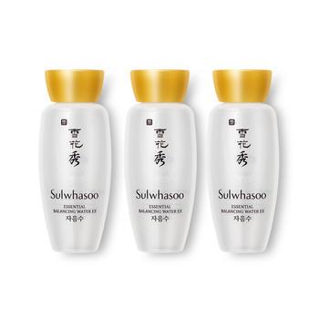 【聚美直发】韩国·雪花秀(Sulwhasoo)滋盈肌本平衡水/润颜水 15ml*3
