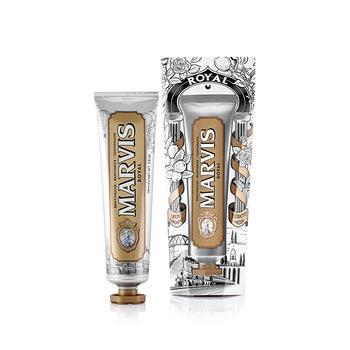 MARVIS牙膏 意大利进口 玛尔仕玫瑰柠檬薄荷味牙膏75ml