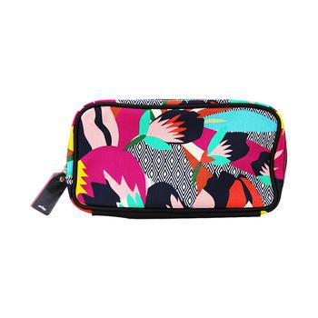 雅诗兰黛化妆包-巴厘岛限定款 简约便携大容量手拿包女包