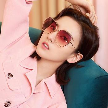 帕森太阳镜女 宋祖儿明星同款多边形尼龙镜片墨镜韩版潮 新品8276