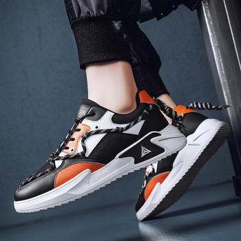 跨洋春夏新款男士跑步鞋透气防滑运动鞋