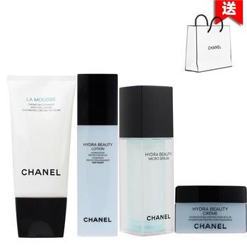 Chanel香奈儿山茶花护肤化妆品套装补水保湿 四件套装 (干性肌肤)