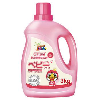 德露宝婴儿洗衣液3kg母婴幼儿童孕妇适用无荧光剂孕妇儿童衣服