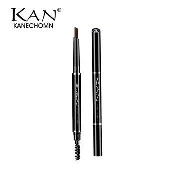 KAN双头眉笔 自然棕色不晕染眉粉眉膏不脱妆不掉色防水防汗眉笔
