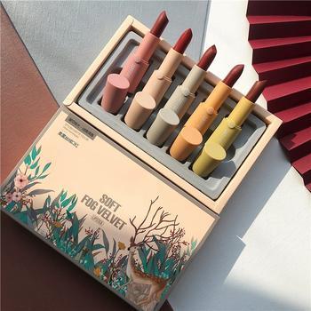 【李佳琦推荐】口红套装正品柔雾丝绒小众品牌小样套盒