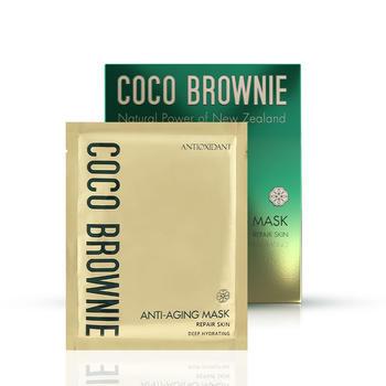 Coco Brownie可莱尼虾青素抗初老熬夜面膜女补水保湿提亮提拉精致