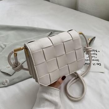 INME女包今年流行新款潮小众设计斜挎单肩编织包包女时尚百搭洋气