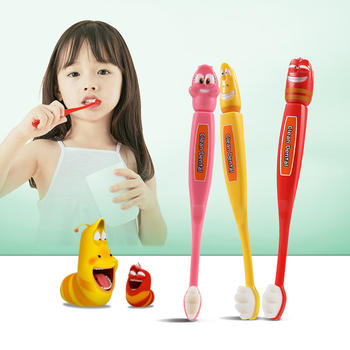 植物主义3支装宝宝牙刷牙膏套装儿童婴幼儿专用3岁以上可用