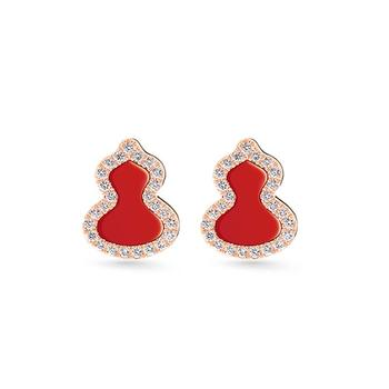 C&C红色葫芦系列 葫芦项链葫芦手链葫芦耳钉