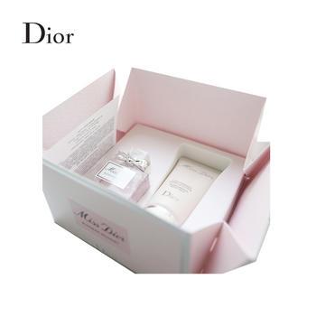 迪奥(Dior)小姐花漾淡香氛系列随行套组   花漾小姐淡香氛+润体乳
