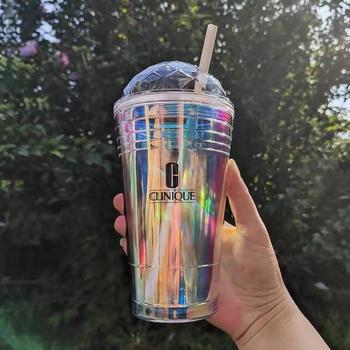 【聚美直发】倩碧冰淇淋镭射杯 耐高温食品级水杯