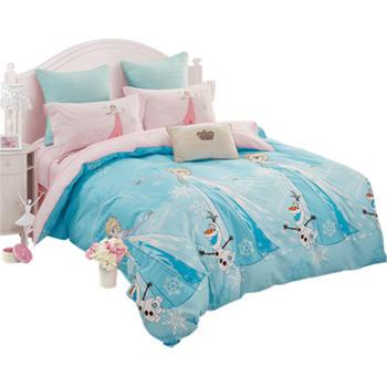 迪士尼卡通床上用品三四件套全棉